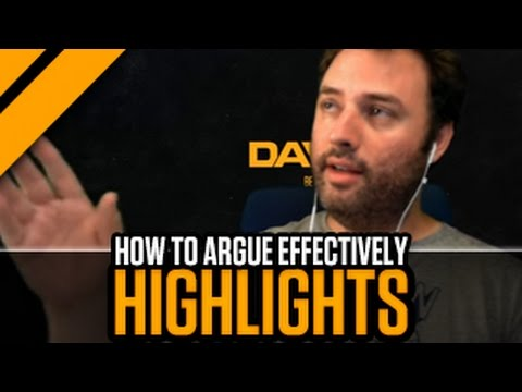 [Highlight] How to Argue Effectively