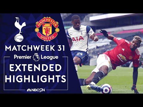 Tottenham v. Manchester United | PREMIER LEAGUE HIGHLIGHTS | 4/11/2021 | NBC Sports