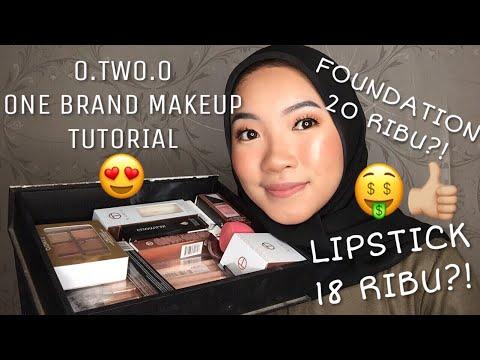 O.TWO.O One Brand Makeup Tutorial + Review | Makeup Murah Dibawah 60ribu!!!! [Bahasa Indonesia]