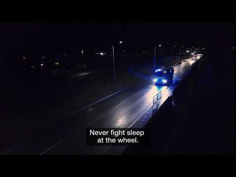 Never fight sleep at the wheel.