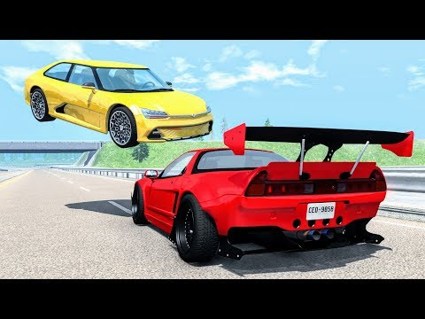 Loss of Control Crashes #33 – BeamNG Drive | CrashBoomPunk