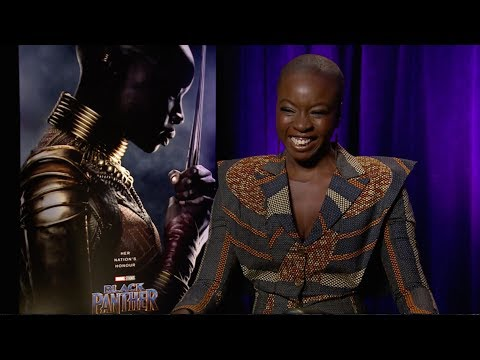 Danai Gurira on the women of 'Black Panther'