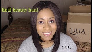 Final Beauty Haul of 2017!