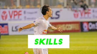 Nguyễn Văn Toàn   Cầu thủ xuất sắc nhất tháng 1 và tháng 3 V.League 2021   HAGL Media