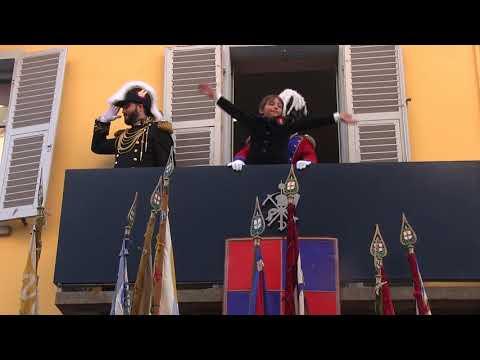 Preview video Storico Carnevale di Ivrea - Domenica 28 Gennaio 2018 - 1.a Alzata degli Abbà