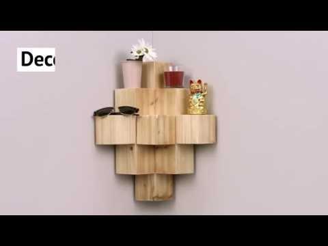 Criar uma estante de esquina