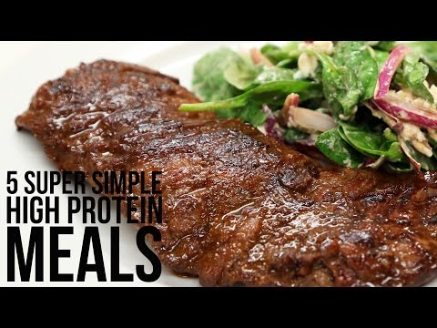 Video 5 Super Simple High Protein Meals