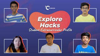 youtube video thumbnail - Explore Hacks | Student Extracurricular Profile