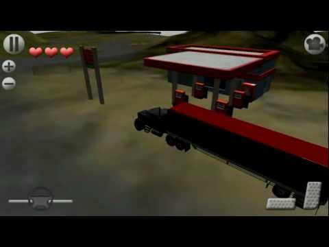 Video of 3D Truck Parking