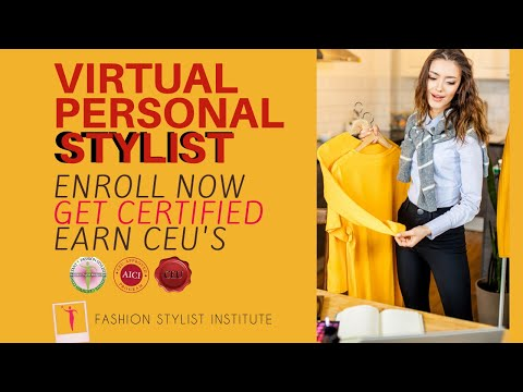 Certify as a Virtual Personal Stylist Online - YouTube