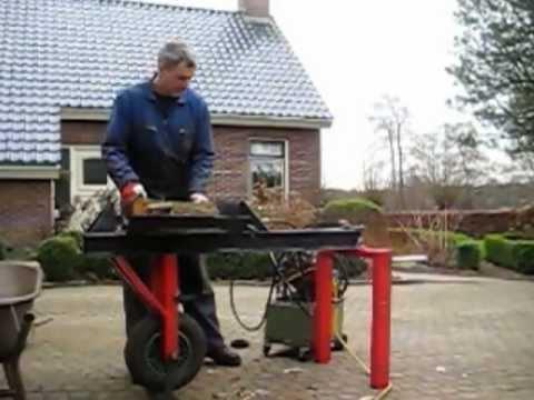 houtklover voor hydraulisch unit