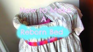 How To Make A Reborn Bed L Moses Basket L Reborn Life