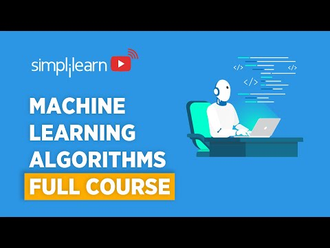 Machine Learning Algorithms Full Course   Machine Learning ...