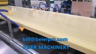 Beier Machinery WPC wood plastic door board extrusion line