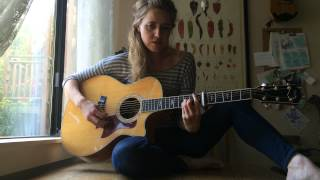 America By Simon & Garfunkel  Cover By <b>Megan Slankard</b>