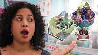 Fabric Box & Basket - DIY Sewing Tutorial