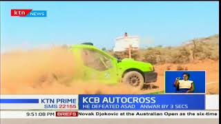 The splash for dust and glory during the 2018 KCB autocross season opener came to dramatic close