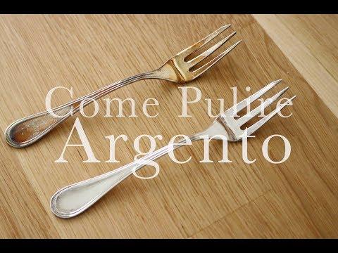 Come Pulire l'ARGENTO in pochi minuti | LOW COST e SENZA SFORZO | CasaSuperStar
