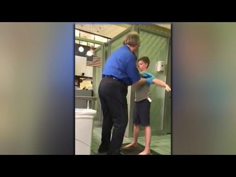 """Mother speaks out on son's """"excessive"""" TSA pat down"""