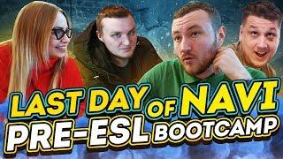 Last day of NAVI.CSGO Pre-ESL Pro League bootcamp