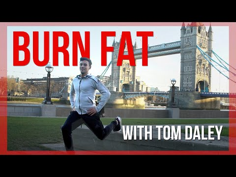 How To Burn Fat in Your Lunch Break in 5 Minutes |  Tom Daley