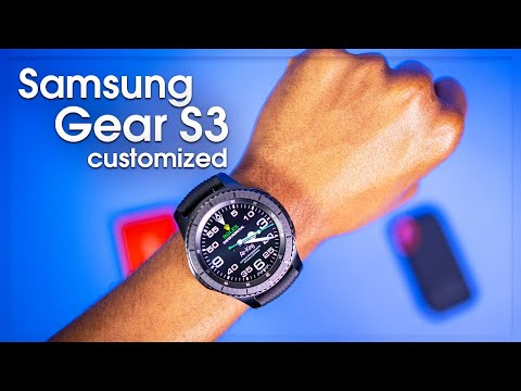Samsung Gear S3 or any Smartwatch Customizing with Watchmaker / Facer and Amazon Watch bands