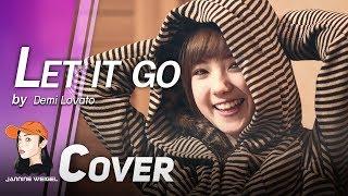 Let It Go (OST.Frozen) - Demi Lovato cover by Jannine Weigel (พลอยชมพู)