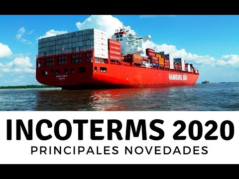 INCOTERMS 2020. New DPU, changes in CIF and CIP