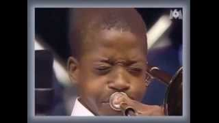 Trombone Shorty At Age 13 - 2nd Line