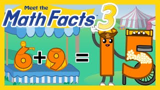 Meet The Math Facts - Addition & Subtraction Level 3 (FREE) | Preschool Prep Company