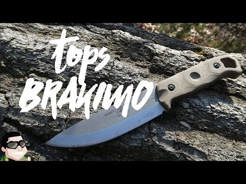 Tops Brakimo A+ Survival & Camp Knife Review