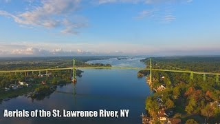 Aerial footage of the St. Lawrence River in 4k!!