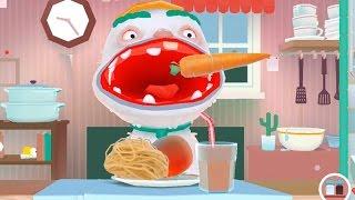 Веселая игра для детей Готовим еду варим апельсины   развлекательная игра для детей Тoca kitchen