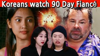 Koreans in their 30s react to '90 Day Fiancé: Before the 90 Days'