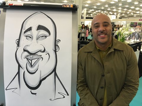 spot on caricature at london
