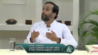 Dr. Arany Tunes fala sobre mau hálito (halitose) no programa Vida & Saúde, da rede Século XXI.
