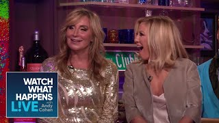 Andy Cohen's Catches Up With The 'Wives | RHOC & RHONY | WWHL