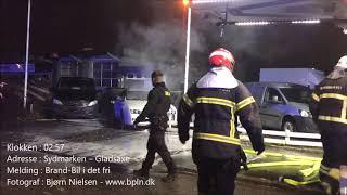 07.03.2019 – Ild i bil – Gladsaxe