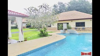Four Bedroom Private Pool Villa with Extra Large Yard in Rawai