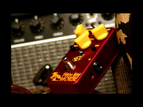 VFE Pedals Fiery Red Horse Guitar Pedal