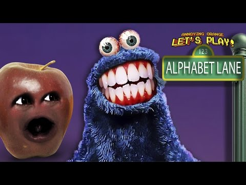 Midget Apple Plays - Alphabet Lane (Scary Sesame Street!)
