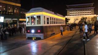 Video : China : BeiJing 北京 - QianMen and TianAnMen at night