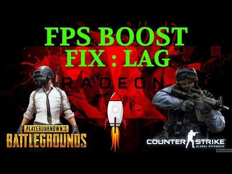 AMD Radeon Settings for FPS Boost PUBG Rx480/580 - смотреть
