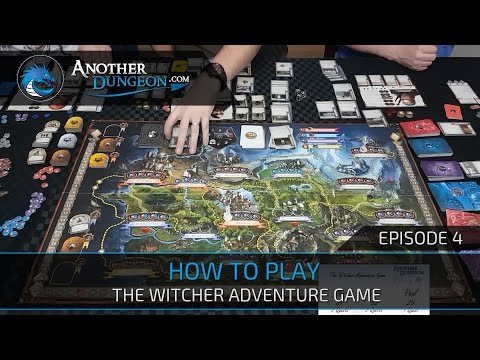 How to Play The Witcher Adventure Game - Episode 4 - Demo Game | Another Dungeon