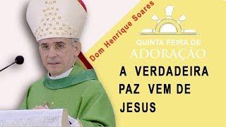 A verdadeira paz vem de Jesus - Dom Henrique Soares (23/11/17)