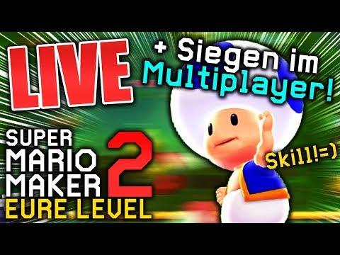 , title : 'Der Nacht-Stream😉 - Eure Level und Multiplayer - Super Mario Maker 2 (Live Aufzeichnung)