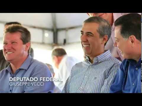 Deputado federal Giuseppe Vecci em Aragoiânia