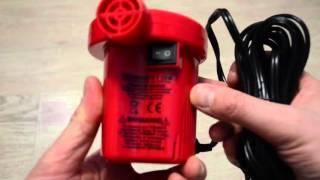 Электрический насос интех для лодок ac-401 турбинка 12v