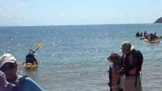 preview picture of video 'Club Kayak Aqua Sports @ Ceiba Zarpando a Cayo Piñero'