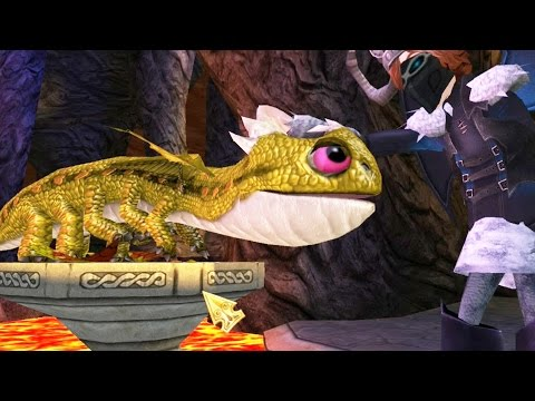 FIREWORM QUEEN HATCHED - How To Train Your Dragon - School of Dragons